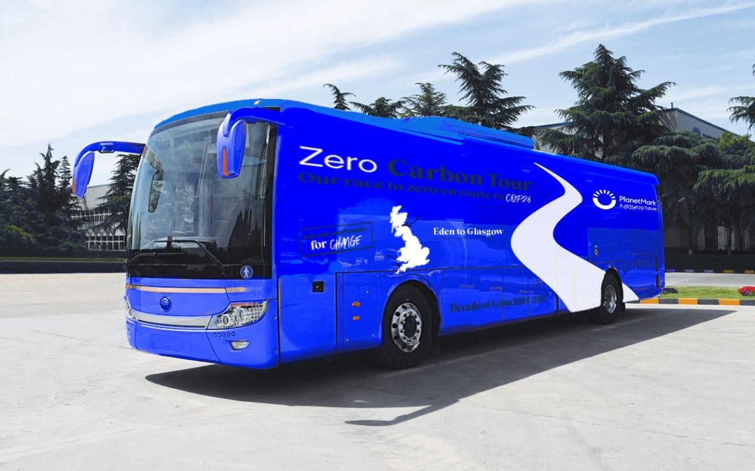 The 'Carbon Battle Bus' to visit Cambridge!